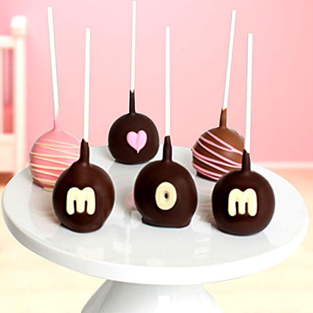 Belgian Cake Pops For Mom:Send Chocolate to Saudi Arabia