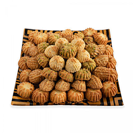 Assorted Maamoul Delight:Send Sweets to Saudi Arabia