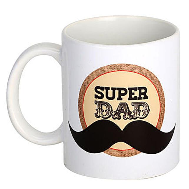 Dad Coffee Mug-printed white ceramic coffee mug:Send Fathers Day Gifts to Saudi Arabia