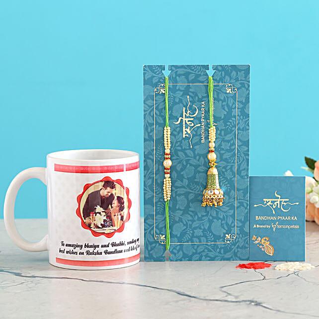 Green Lumba Set And Personalised Mug Combo