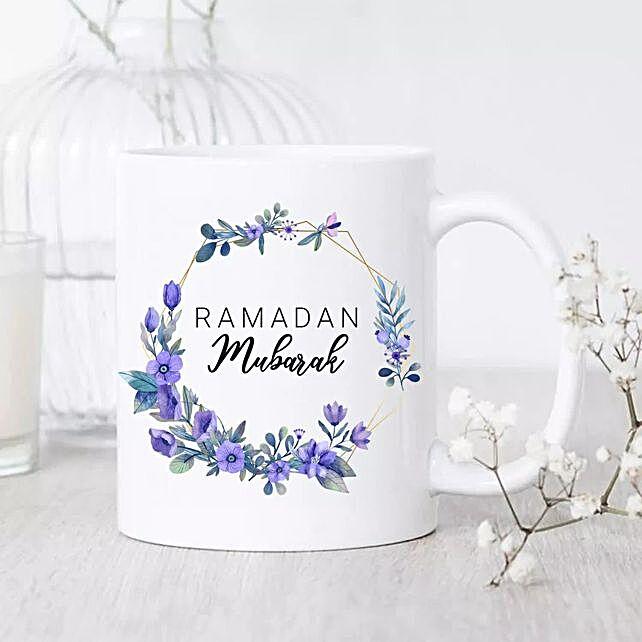 Ramadan Mubarak Mug:Send Ramadan Gifts to Saudi Arabia
