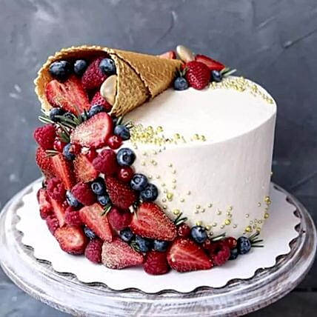 Tales of Taste Ice Cream Cone Cake