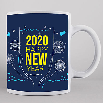 2020 New Year Wishes Mug