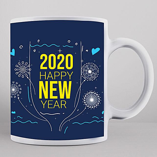 2020 New Year Wishes Mug