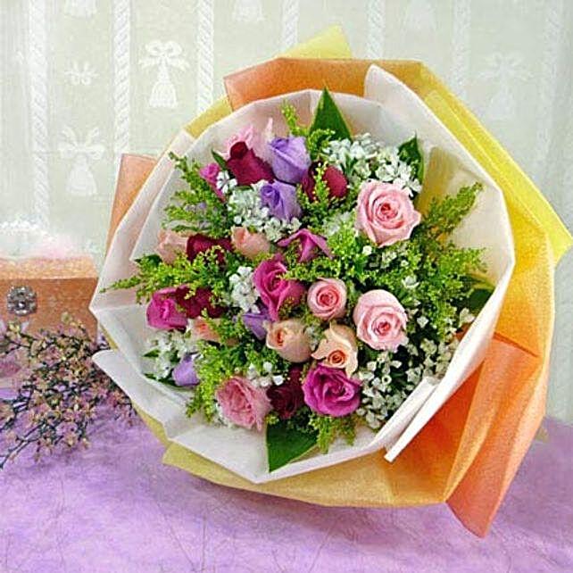30 Mixed Roses