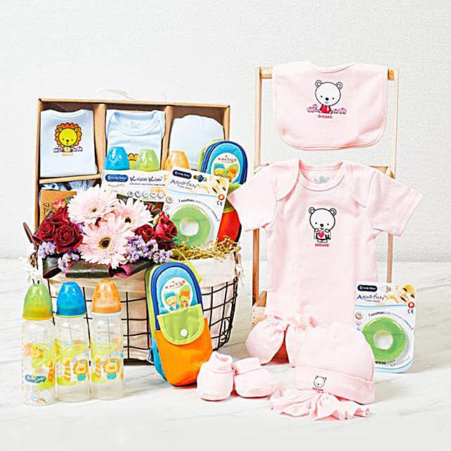 Adorable Baby Care Essentials Hamper