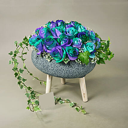 All Blue Floral Love
