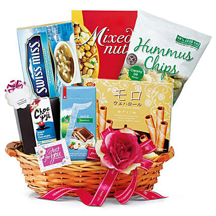 Appetizing Chocolate Hamper:Corporate Gifts Singapore