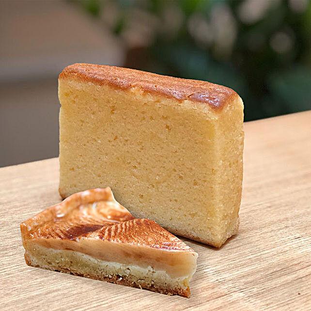 Butter Teacake - Cinnamon Apple Tart Combo