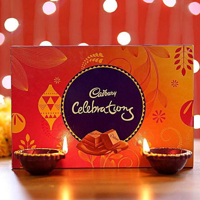 Cadbury Celebrations Box Diyas