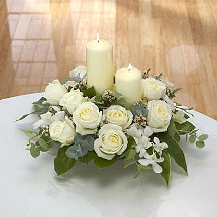 Center Table Arrangement:Send Mixed Flowers to Singapore