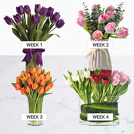Charm Of Tulips:Flower Delivery Singapore