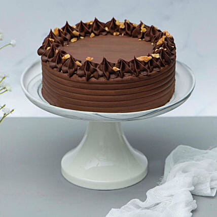 Crunchy Walnut Chocolate Cake:Gifts for Wife in Singapore