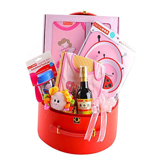 Cutesy Baby Gift Hamper:Gift Basket to Singapore