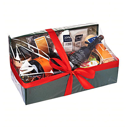 Decadent Cheese Hamper:Send Corporate Gifts to Singapore