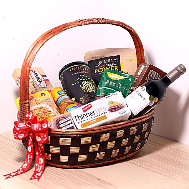 Delectable Snack Gift Basket