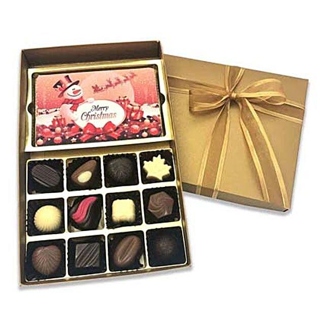 Designer Christmas Chocolate Box:Send Chocolates to Singapore