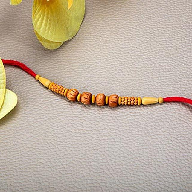 Elegant Beads Rakhi