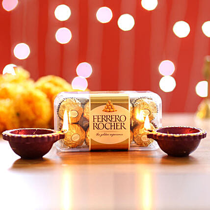 Ferrero Rocher Diyas:Diwali Gift Delivery in Singapore