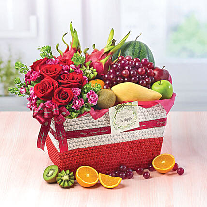 Fruity Paradise And Flowers