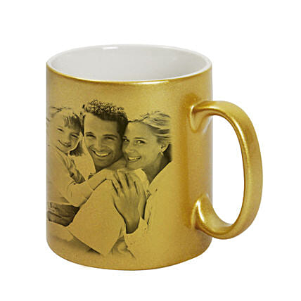 Golden Best Couple Personalised Mug:Personalised Gifts to Singapore