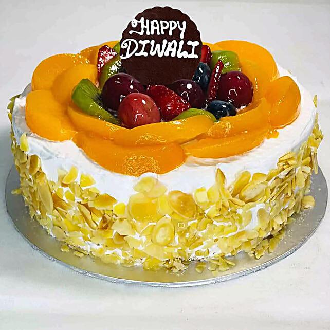 Happy Diwali Fruit Cake