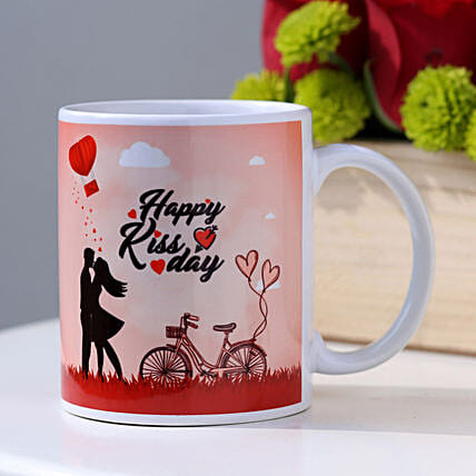 Mug for Kiss Day Gift Online