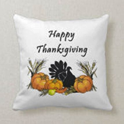 Happy Thanksgiving Wishes Cushion:New Arrival Gifts Singapore