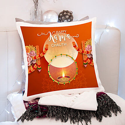 Karva Chauth Cushion For Special Wife
