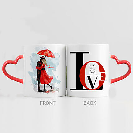 Love Is All I Need Printed Mug