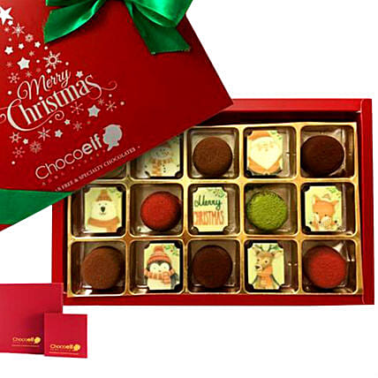 Merry Christmas Festive Pralines & Truffle Mini Box