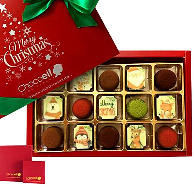 Merry Christmas Festive Pralines & Truffle Mini Box