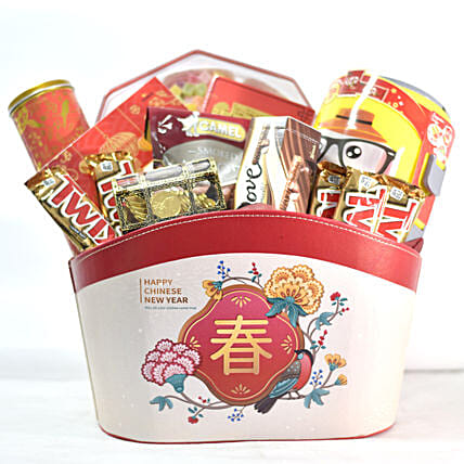New Year Celebrations Gift Hamper:Send Chinese New Year Gifts to Singapore