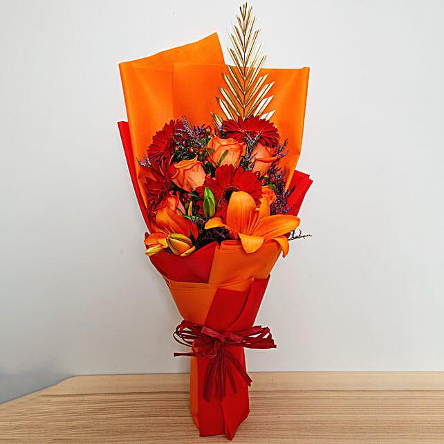 New Year Flower Bouquet