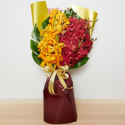Orchids Bouquet:Chinese New Year Gift Delivery in Singapore