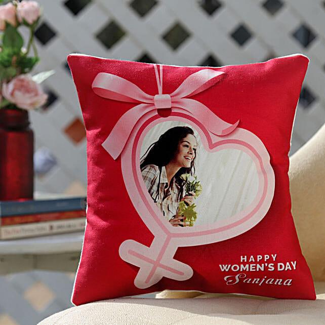 Women's Day Cushion Online