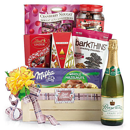 Premium Snacks and Tea Hamper:Corporate Gifts Singapore