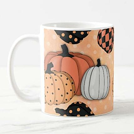 Pumpkin Kisses and Wishes Mug:New Arrival Gifts Singapore