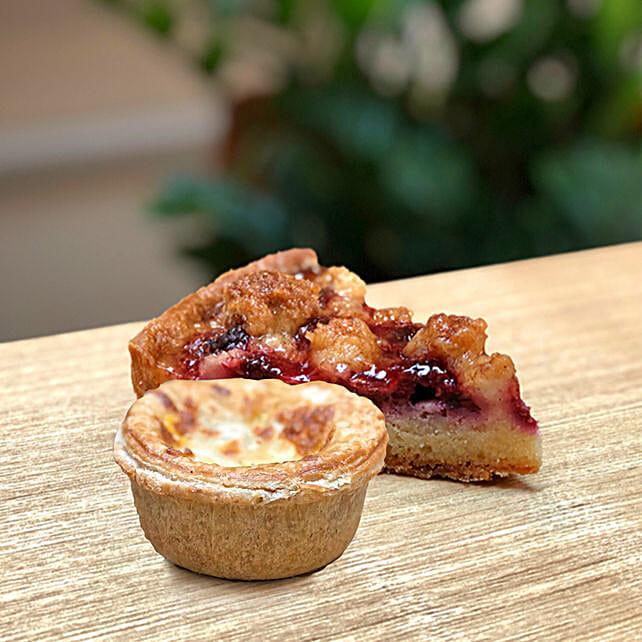 Raspberry Crumble - Butter Chicken Pie Combo