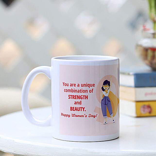 Women's Day Wishes Printed Mug Online