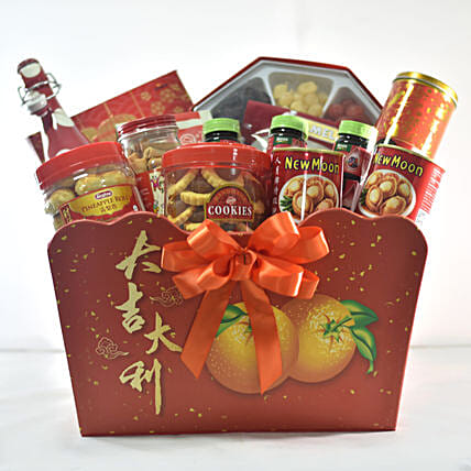 Sweet & Spicy Treat Hamper For New Year