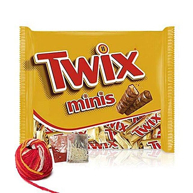 Delicious Twix Minis Bar