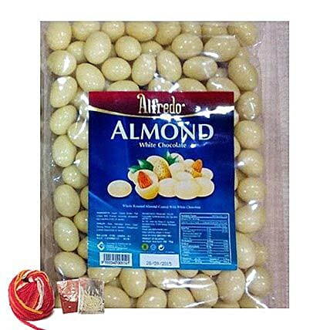 Yummy Almonds White Chocolates