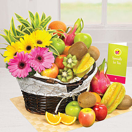 Sunshine Pleasure:Fruit Basket Delivery Singapore