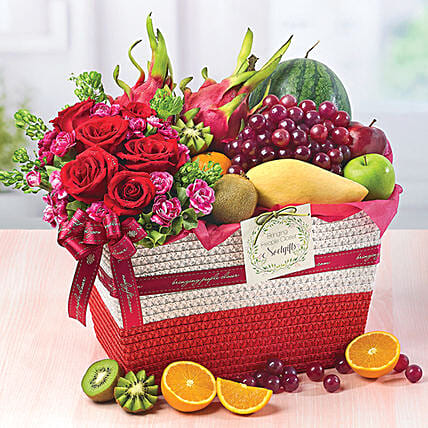 Fruity Paradise:Fruit Basket Delivery Singapore