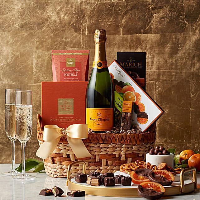 Chocolate N Caramels Gift Basket
