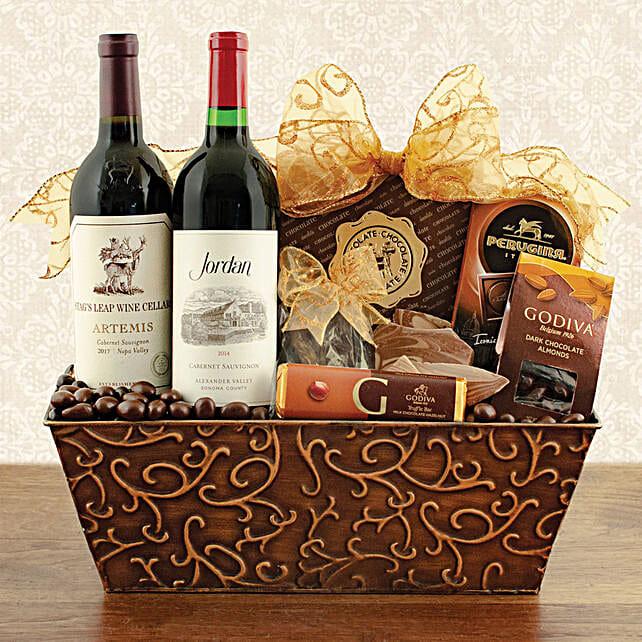 Red Wine N Truffles Gift Hamper