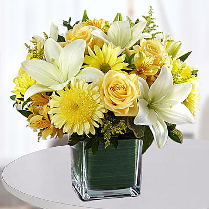 Floral Happiness Vase