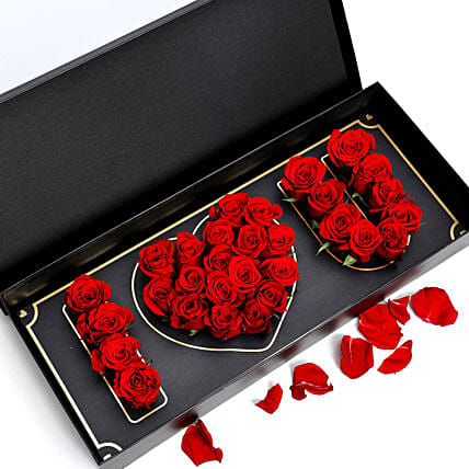 I Love You Red Roses