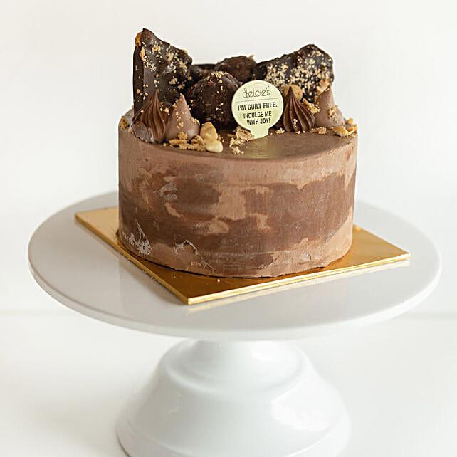 Rocher Chocolate Cake